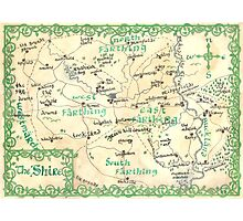 The Shire - hand-painted design Photographic Print