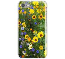 Summers meadow iPhone Case/Skin