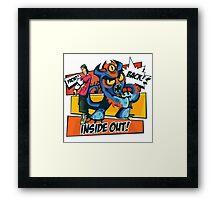 New Hero Framed Print