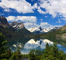 Glacier National Park from the Going-to-the-Sun Road by Daniel Arthur Brown