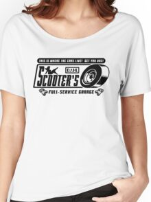 Scooter's Workshop v2 Women's Relaxed Fit T-Shirt