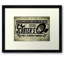 Scooter's Workshop v2 Framed Print