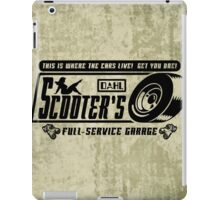 Scooter's Workshop v2 iPad Case/Skin