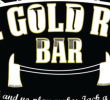 the shiny bar Sticker