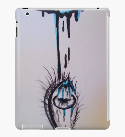 Media Influencing Perception Eye iPad Case/Skin