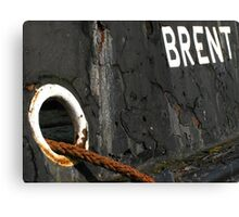 The Thames Barge Brent Canvas Print