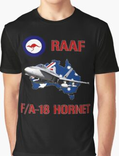 F/A-18 Hornet of the RAAF Graphic T-Shirt