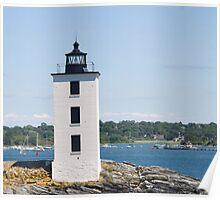 Dutch Island Lighthouse Poster