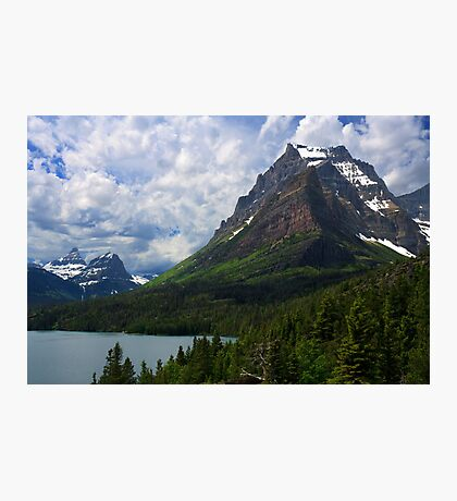 Glacier National Park from Sun Point Photographic Print