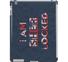 I Am Sherlocked iPad Case/Skin