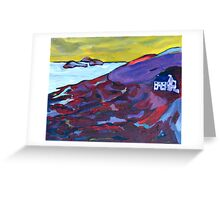 Deenish and Scariff, Kerry Greeting Card