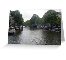 Canal of Serenity Greeting Card