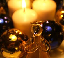 Christmas angel by freshairbaloon