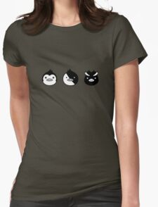 Pingroup, Kiga and Penguin Force Womens Fitted T-Shirt