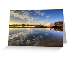 Salt Pans Of Ludo Greeting Card