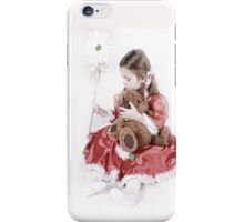 Christmas with Teddy iPhone Case iPhone Case/Skin