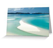 Marooned on Whitsunday Island Greeting Card