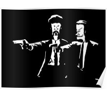 Beavis and Butthead Pulp Fiction Poster