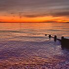 Sunset Over Selsey Two by MPRimages