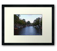 Canal of Wonder Framed Print