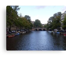 Canal of Wonder Canvas Print
