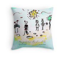 Wandern Throw Pillow
