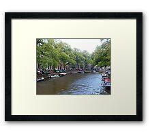 Winding Way Framed Print