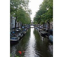 Canal of Mystery Photographic Print