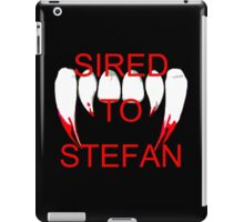 Sired to stefan iPad Case/Skin