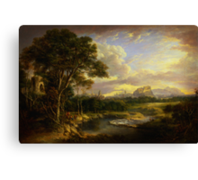 Alexander Nasmyth View of the City of Edinburgh Canvas Print