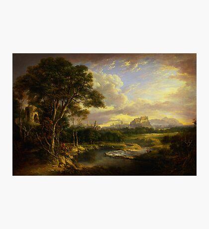 Alexander Nasmyth View of the City of Edinburgh Photographic Print