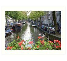 Canal of Love Art Print