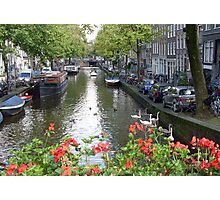 Canal of Love Photographic Print