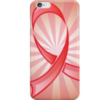 Awareness Red Ribbon 2 iPhone Case/Skin