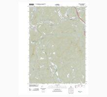 USGS TOPO Map New Hampshire NH Bristol 20120608 TM Baby Tee