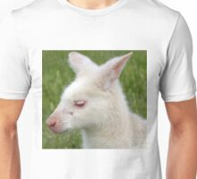 Albino Wallaby Unisex T-Shirt