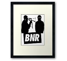 Boys Noize Records - BNR Framed Print
