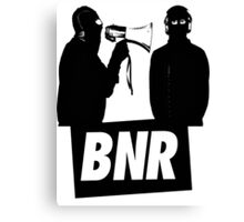 Boys Noize Records - BNR Canvas Print
