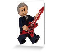 Rocking Doctor Greeting Card