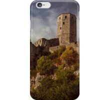 An old abandoned castle iPhone Case/Skin