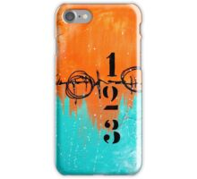 Abstract Typography iPhone Case/Skin