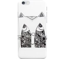 Cat Paradox iPhone Case/Skin