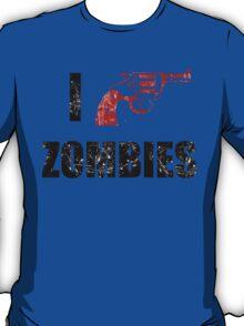 I Shotgun Zombies/ I Heart Zombies  T-Shirt