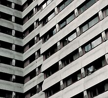 Concrete stripes  by opentoesandals