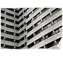 Concrete stripes  Poster