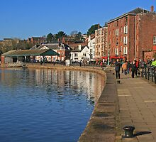 Exeter Quay by RedHillDigital