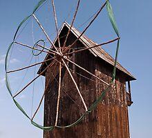 Wind Powered Shed by Paul Barnett