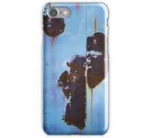 Blue Rust iPhone Case/Skin