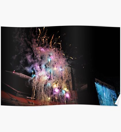 one direction otra fireworks Poster