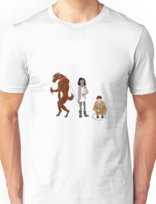 Annie, Tom, and Hal Unisex T-Shirt